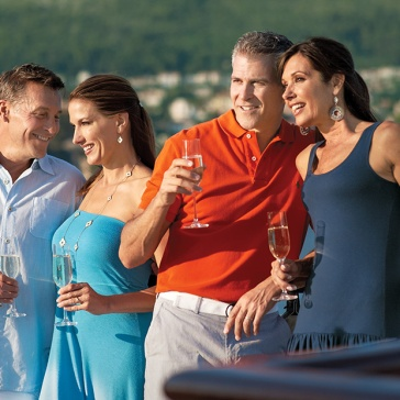 Enjoy your time on board with like-minded cruisers