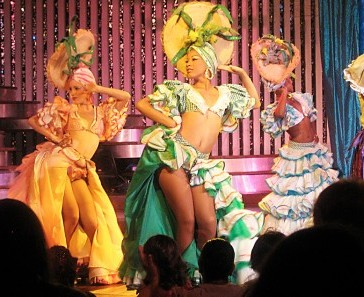 Performers at Tropicana