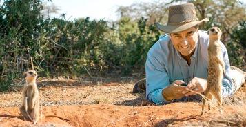 Ian Swain in Africa